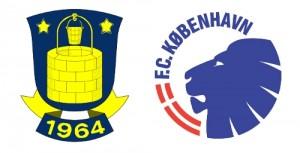 Brøndby Logo FCK Logo
